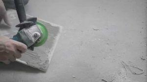 Удаление клея с плитки