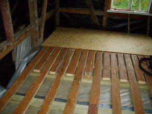 на деревянную основу