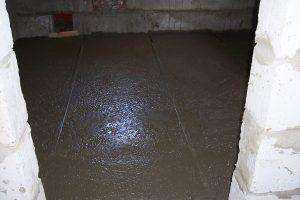 заливки бетонного пола