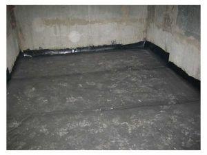 Заливка пола в подвале