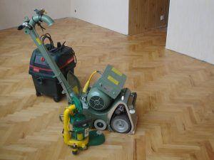 зачистка древесины