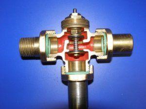 двухходовый клапан