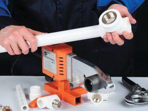 инструмент для обжима и спайки элементов трубопроводов
