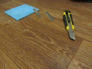 нож линолеум