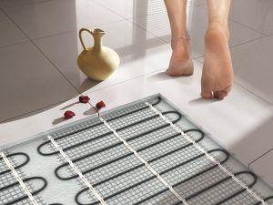 Ванная теплый пол