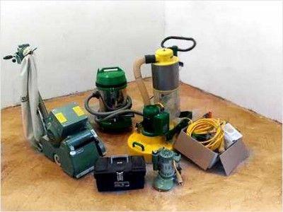 Инструменты для циклевки деревянного пола