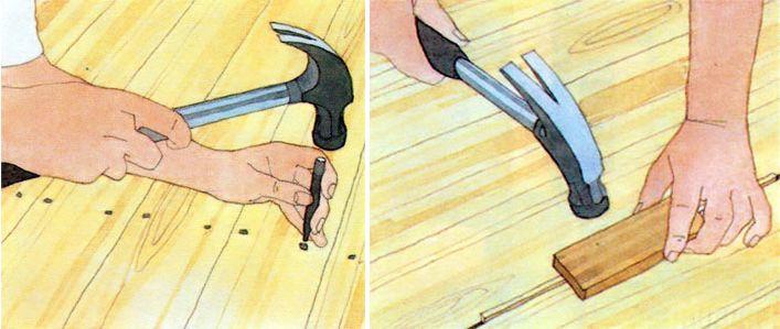 Подготовка пола к цеклевке