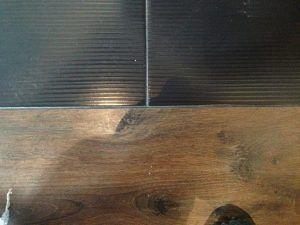 Профиль для стыковки плитки и ламината