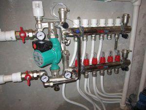 Терморегулятор водяного теплого пола