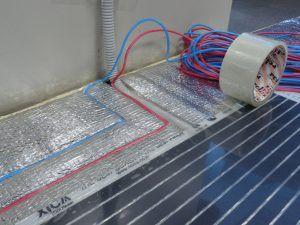 Подключение плёночного тёплого ИК-пола