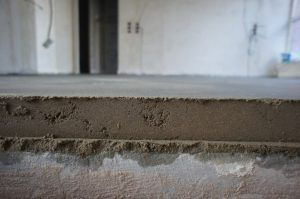 стяжка бетон пол