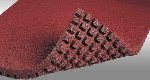 Укладка резинового покрытия