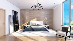 стена спальни