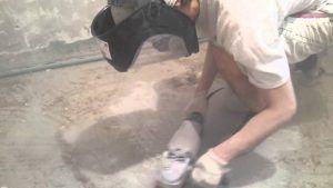 Зачистка бетона
