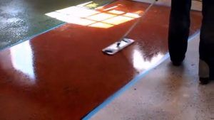 эпоксидка бетон