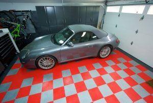 плиточный гаражный пол