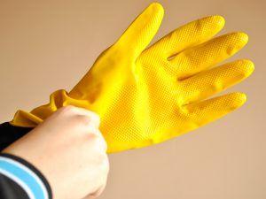 Резинвые перчатки