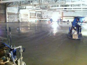 Топпингование бетона